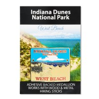 Indiana Dunes NP Hiking Medallion