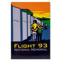 ANP Flight 93 Magnet