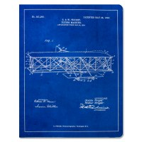 Wright Flyer Blueprint Notebook