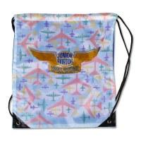 Junior Aviator Drawstring Bag