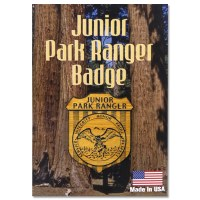 Junior Ranger Wooden Badge Pin