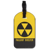 Fallout Shelter Luggage ID Tag
