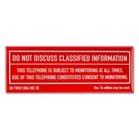 Minuteman Classified Information Magnet