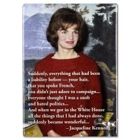 Jacqueline Kennedy Quote Magnet