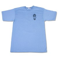 I Hiked Acadia Light Blue Tee