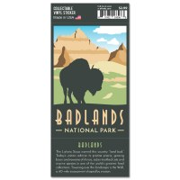 Badlands Trailblazer Sticker