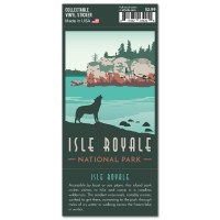 Isle Royale Trailblazer Sticker