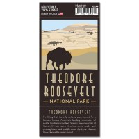 Theodore Roosevelt Trailblazer Sticker