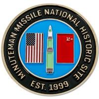 Minuteman Missile NHS Pin