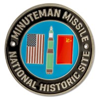 Minuteman Missile NHS Hiking Medallion