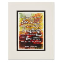 Harriet Tubman Crossed Quote Print