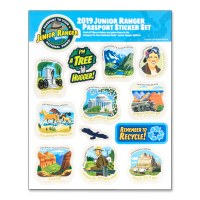 2019 Junior Ranger Sticker Set