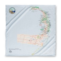 Cape Cod Map Bandana