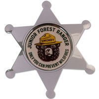 Smokey Bear Junior Forest Ranger Badge
