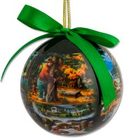 Smokey Bear Collage Ornament