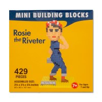 Rosie the Riveter Mini Blocks