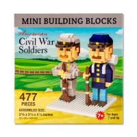 Civil War Soldiers Mini Blocks