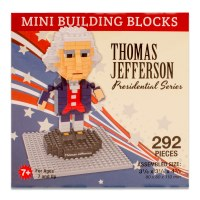 Thomas Jefferson Mini Blocks