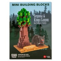 Sequoia and Kings Canyon Mini Blocks