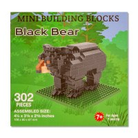 Black Bear Mini Blocks