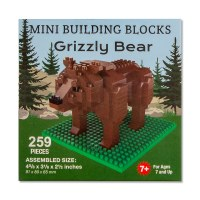Grizzly Bear Mini Blocks