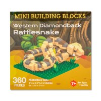 Western Diamondback Rattlesnake Mini Blocks