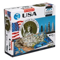 USA Cityscape 4D Puzzle