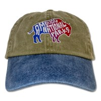 Funky Bison Cap Denim