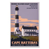Cape Hatteras Bodie Lighthouse Poster