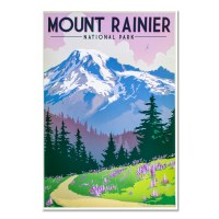 Mount Rainer National Park Poster