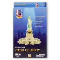 Statue Of Liberty 3D Mini Puzzle
