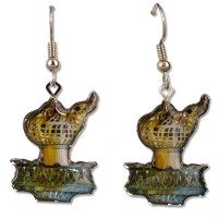 Statue of Liberty Torch Earrings