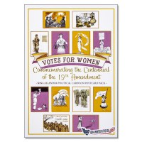 19th Amendment Political Cartoon Postcard Pack