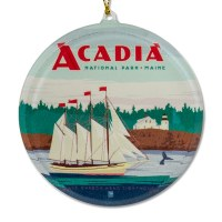 Acadia Sailing Sun Catcher
