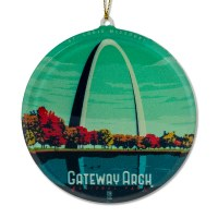 Gateway Arch Sun Catcher