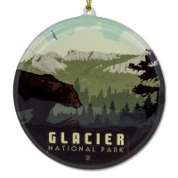 Glacier National Park Sun Catcher