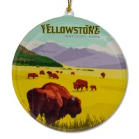 Yellowstone National Park Sun Catcher