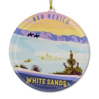 White Sands National Monument Sun Catcher