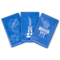 Statue Of Liberty Blueprint Magnets