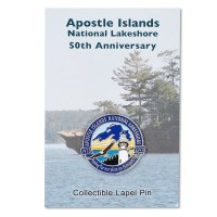 Apostle Islands 50th Anniversary Pin