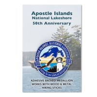 Apostle Islands 50th Anniversary Hiking Medallion