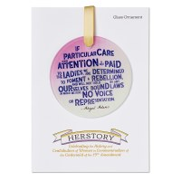 Abigail Adams Quote Ornament