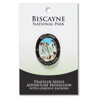 Biscayne Travelers Hiking Medallion
