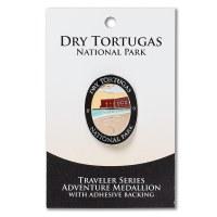 Dry Tortugas Travelers Hiking Medallion