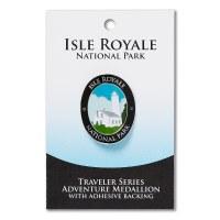 Isle Royale Travelers Hiking Medallion