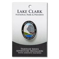 Lake Clark Travelers Hiking Medallion