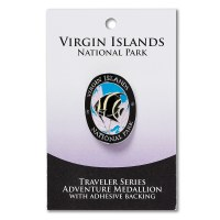 Virgin Islands Travelers Hiking Medallion