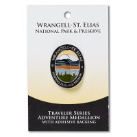 Wrangell-St Elias Travelers Hiking Medallion