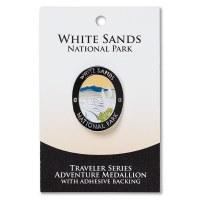 White Sands Travelers Hiking Medallion