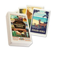 62 National Parks Sticker Set
